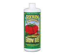 FoxFam Grow Big Liquid Plant Food Quart 6 - 4 - 4