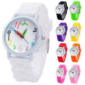 New Children Wrist Watches Intelligent Digital Pencil Pointer Quartz Kids Watch