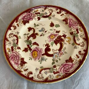 Masons Ironstone Red Mandalay Dinner Plate 26 cm Diameter 10.5 inch