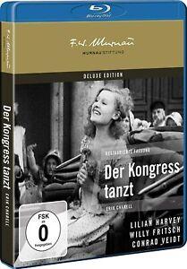 Der Kongreß tanzt - Deluxe Edition (1931)[Blu-ray/NEU/OVP] Murnau Stiftung