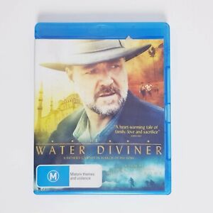 The Water Diviner Bluray Movie Blu-ray Free Postage - Drama Russell Crowe