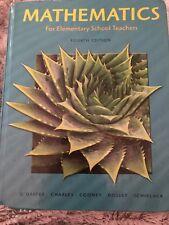 Mathematics for Elementary School Teachers by Randall Charles, Phares O'Daffer,