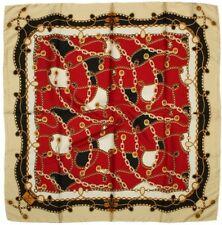 Quality Silky Square Scarf 90x90cm Head Wrap Hijab Kercief Cream Red Blue