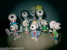 Vent Snoopy -Lot anciennes figurines amovibles-Multi format-