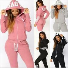 Damen Trainingsanzug Hausanzug Hoodie Sweatshirt Hose Jogginganzug Sport DE
