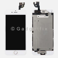 Complete White LCD Screen Touch Screen Digitizer Gold Button Camera for iphone 6