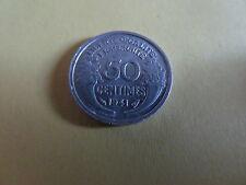 PIECE 50 CENTIMES   MORLON   1941