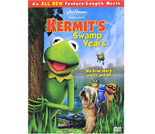 CHILDREN/KIDS DVD KERMIT'S SWAMP YEARS HIS TRUE STORY, WARTS AND ALL.