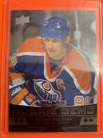 2012-13 Upper Deck Black Diamond Quad Rookie Gems #235 Wayne Gretzky Oilers SP