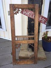 Vintage Salesman Sample Wooden Victorian Screen Door 9 X 20