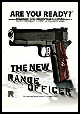 2011 Springfield Armory 1911 A1 Range Officer Pistol Print Photo Ad