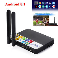 4+64GB Android 8.1 Amlogic RK3328 Octa Core 4K TV BOX CSA93 PLUS Media Bluetooth