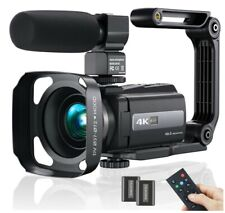 Video Camera Camcorder 4K WiFi Ultra HD 48MP Vlogging Recorder