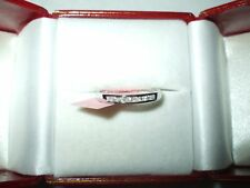 Genuine Diamond Ring / Band .13 cttw 14K White gold $720