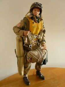"Action Figure DID DRAGON WWII 1/6e:Custom :PARA US,101e Airborne ""prêt à sauter"""