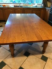 Farmhouse  American White Solid Oak Dining 8ft Table