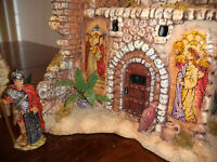 Dept 56 The Holy Land Tower of David The Easter Story Complete Set RETIRED