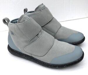 Worldboots Moccasin Sneaker Unisex Blue Suede SZ Men 11 Women 12  NWB MSRP $259