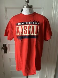 NASCAR Classic T Shirt Established 1948 Size XL   New With Tags