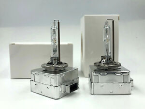 2x New OEM Philips D3S HID Xenon Headlight Bulb for 13-17 Hyundai Santa Fe