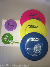 FRISBEE DISC GOLF NEW INNOVA BUILD/CUSTOMIZE YOUR OWN 3 PACK SET + MINI DX GRADE