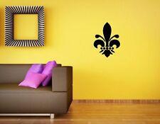 Fleur De Lis Wall Sticker Wall Art Decor Vinyl Sticker Decal 12x12