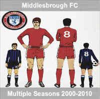 Programme Middlesbrough Football Riverside Home Programmes Various 2000 to 2010