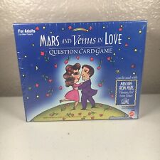 Mars and Venus in Love Question Card Game For Adults 2+ players Mattel New