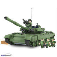 456pcs Military Army Tank T90A Building Blocks Bricks Toys Gift For Kids