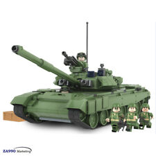 456pcs Military Army Tank T90A Building Building Blocks Toys Gift For Kids