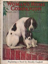 1924 Woman's Home Companion April - Anton Lang; paperdolls; Coca Cola; Pinchot