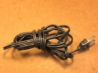 """AC Power Cord w/ grommet for Pioneer PL-15D II - Turntable Parts 94"""" long"""