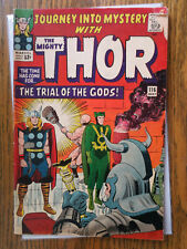 journey into mystery 116 (marvel may 1965) thor loki silver age stan lee VG+