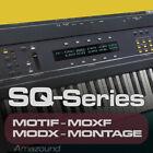 ENSONIQ ESQ-1 SQ-80 SAMPLES for YAMAHA MOTIF ES XS XF MOXF MODX MONTAGE KEYMAPS