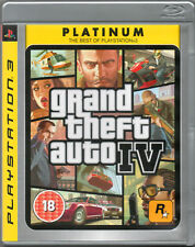 GRAND THEFT AUTO IV GAME PS3 (GTA 4) ~ UNUSED, VERY, VERY EXCELLENT CONDITION!