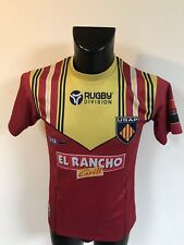 Maillot Rugby Ancien Usap Perpignan Numero 14 Taille S