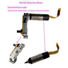 FAULHABER PA2-50 DC 3V Delicate Mini Gear Motor 2 Channels Incremental Encoder