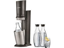 SODASTREAM 1216513490 Crystal 2.0 + 3 Glaskaraffen, Wassersprudler