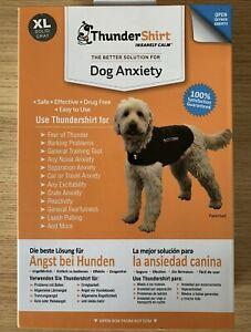 ThunderShirt Dog Anxiety Vest XL Grey. New.