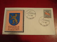 LUXEMBOURG - 1966 WORKERS` UNION - FIRST DAY COVER -  EX. CONDITION