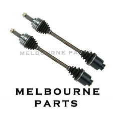 NEW FRONT CV JOINT DRIVE SHAFT TO SUIT SUBARU WRX IMPREZA 10/99-02 ABS (PAIR)