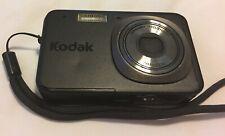 Kodak EasyShare V1073 10.0MP Digital Camera - Black W/New Case Tested & Working