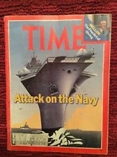 TIME MAGAZINE PRESIDENT JIMMY CARTER NAVY UNDER ATTACK  MAY 8 1978 VERY GOOD