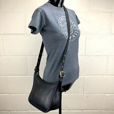 Vintage COACH LEGACY JANICE 9950 Black Leather Crossbody Bag