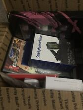 Box of Amazon Returns Unopened Bluetooth Headphones I Phone Cases And Much More