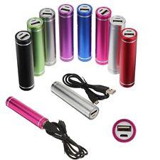 5 x Batterie Externe Secours 2600 Mah Power Bank tout smartphone, iphone via USB