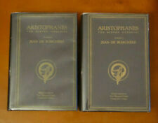 Aristophanes, The Eleven Comedies, 2 Vol limited edition 1928 illustrated VG