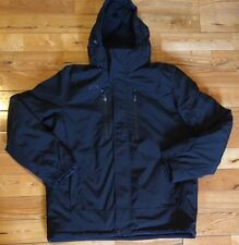 NEW Mens ZEROXPOSUR Black Therm-X Power Stretch Jacket Coat Size Large L $220