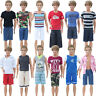 3 Sets Daily Sport Outfits Waistcoat Shorts Clothes Accessories For Ken Doll Toy