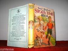 Enid Blyton STORYTIME BOOK 1969 HCDJ various illus inc EILEEN SOPER GRACE LODGE